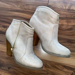 Altair's states heeled booties 6.5